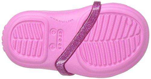 crocs Mädchen 204028 Closed-Toe Ballerinen Pink (Party Pink)