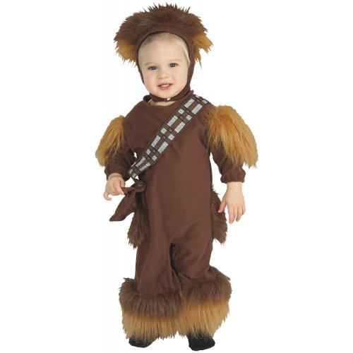 Easy Halloween Costumes-tv Characters (Chewbacca EZ-On Romper Baby Infant Costume - Toddler)
