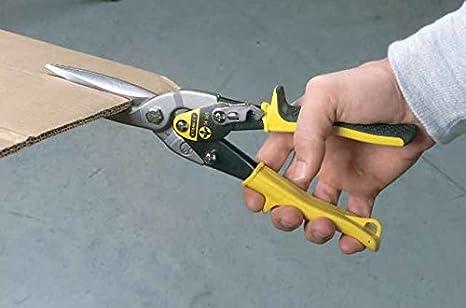 Tijeras corta-chapas corte a la derecha curvado FatMax Stanley 2-14-568