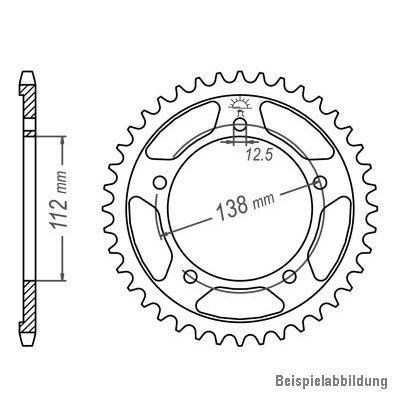 DID X-Ring extra verst/ärkt gold Kettensatz CBR 900 RR Fireblade SC28 1992-1995