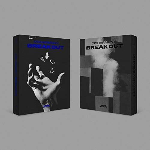 FNC Ent. P1Harmony - Disharmony : Break Out (2d Mini Album) Album+Folded Poster (Freak Out ver.)