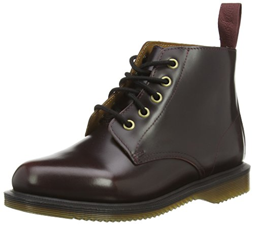 Dr. Martens Women's Emmeline Boot Red (Cherry Red Arcadia 601)