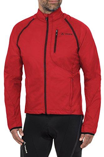 VAUDE Herren Jacke Windoo Jacket, Red, L, 04412