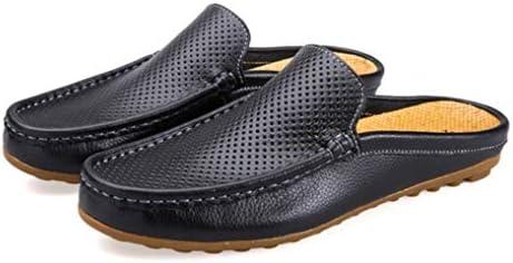 パンチング デザイン メンズ サンダル スリッポン 耐摩耗性 滑りとめ 紳士靴 スムース ドライビングシューズ 通気 軽量 デッキシューズ ローカットローファー ラウンドトゥ フラットシューズ 柔らかい スリッパ