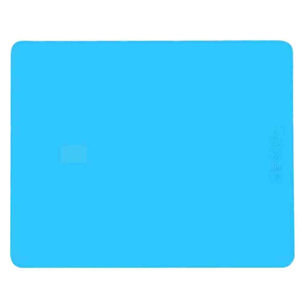 Allscarf007 Multipurpose Extra Large Silicone Nonstick Pastry Mat, Heat Resistant Nonslip Table Mat, Countertop Protector, 19.7''15.7'', Blue Color 19.7''15.7''