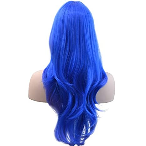 Dog Clothing & Shoes Pet Wig Dog Accessories Funny Cat Wig Blue Straight Hair