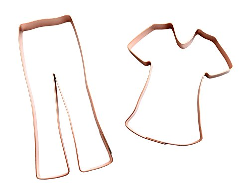 - Hospital Scrubs Copper Cookie Cutter Set by The Fussy Pup