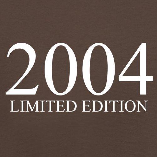2004 Limierte Auflage / Limited Edition - 13. Geburtstag - Herren T-Shirt - Schokobraun - XS