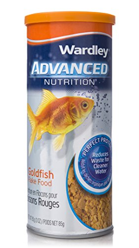 Wardley Advanced Nutrition Perfect Protein Goldfish Food Flakes - ()
