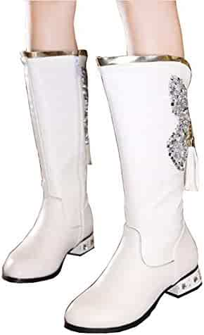 8ba784ab8240e Shopping Knee-high - Purple or White - Boots - Shoes - Girls ...