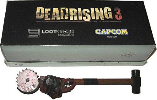 Price comparison product image Deadrising 3 Sledgesaw Hammer Pen Miniature Replica October 2014 Lootcrate Exclusive