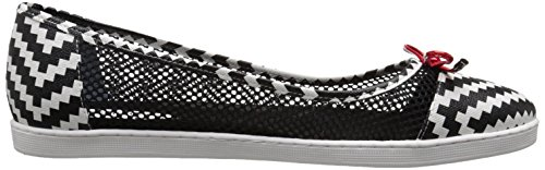 Renee White J Womens Womens J Renee Black Flat Abeni RFStxqF8wP