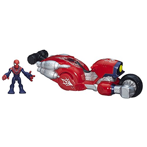 Playskool Helmet (Playskool Heroes Marvel Super Hero Adventures Web-Wheelin' Bike with Ultimate Spider-Man)