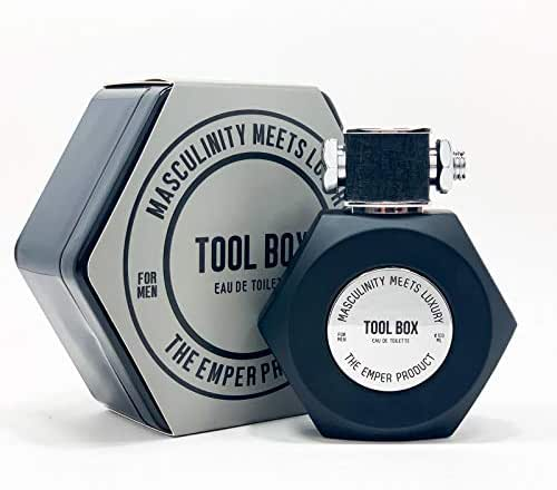 TOOL BOX BY EMPER EAU DE TOILETTE 3.4 OZ FOR MEN.