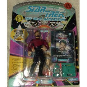 (Star Trek - Next Generation (Playmates) Commander William T. Riker Series 2 Action Figure)