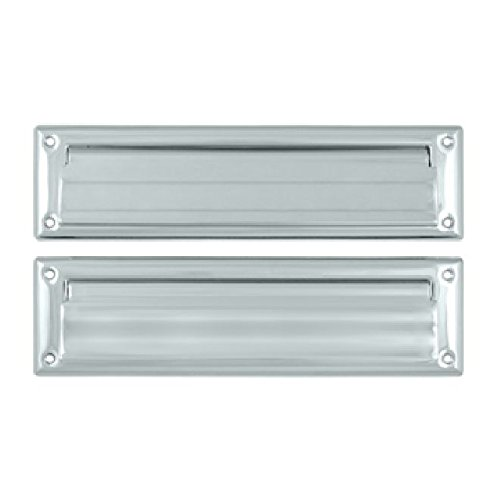 Deltana MS212U15 13 1//8-Inch Mail Slot with Solid Brass Interior Flap Top Notch Distributors Inc. Home Improvement