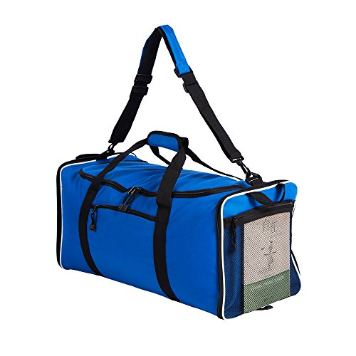 Flyone Travel Duffle Foldable Bag For Luggage Huge Capacity and Durable Material 60L 600D Polyester – DiZiSports Store