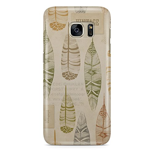 Phone Case For Apple iPhone 5C - Vintage Feathers Tribal Lightweight Slim