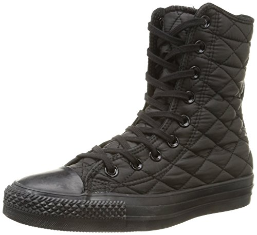 Rise Textile Black Star donna Sneaker All Hi Converse Quilt zvtw6Wx
