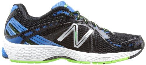 NEW BALANCE 780v3 Chaussures de Course pour Homme, Noir/Blanc/Bleu, 47 - Largeur D