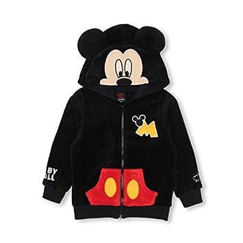 e3a27068e6bd9b BABYDOLL(ベビードール) Disney(ディズニー) ディズニー なりきりジップパーカー 1291K 90cm ミッキー