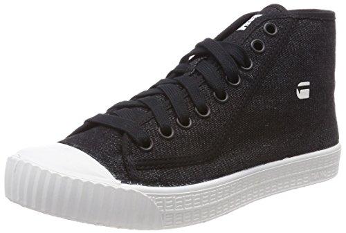 G Rovulc Collo a Sneaker Mid Uomo STAR 990 Nero RAW Alto Black rHYXxqrEw