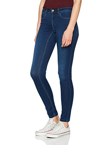 Only Donna Blu Skinny medium Jeans Blue Denim rqBRHrfc