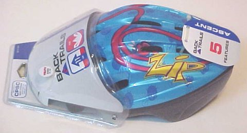 Back Trails Achieve Bike Skateboarding Safety Helmet Random Design 7+ by Back Trails