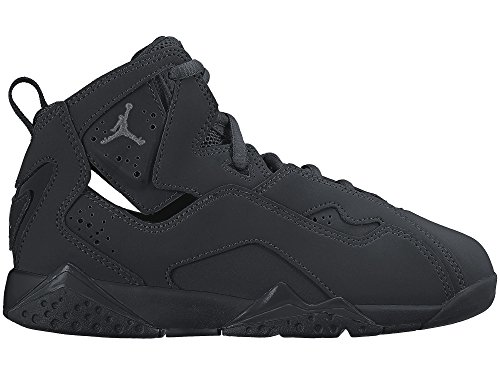 98c710ec0263 Galleon - Nike Air Jordan True Flight BG 343796-013 Black Dark Grey Kids  Basketball Shoes (size 12C)