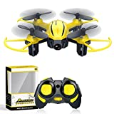 Drone for Kids Mini Drones with Altitude Hold Headless Remote Control Helicopter 2.4G 6-Axis Gyro Small RC Quadcopter with 3D Flip One Key Return Indoor Micro Airplane Flying Toys for Beginner Adults