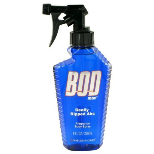 Bod Man Really Ripped Abs By Parfums De Coeur Fragrance Body Spray 8.0 oz by Parfums De Coeur