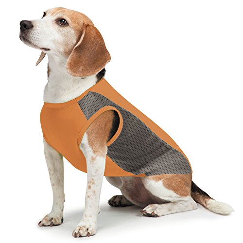Lhasa Tank - Insect Shield Insect Repellant Breathable Mesh Tank for Protecting Dogs from Fleas, Ticks, Mosquitoes & More