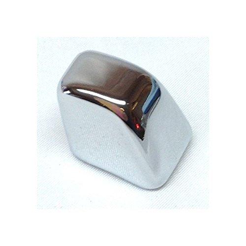 Lock knobs chrome