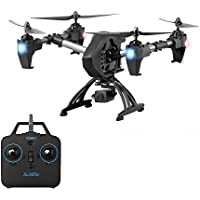 JY011 RC Quadcopter Drone with HD Camera, Air Pressure Altitude Hold 4 Channel 2.4GHz Gravity Sensor Helicopter