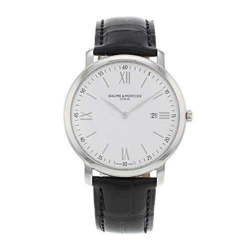 baume-and-mercier-classima-executives-white-dial-stainless-steel-mens-watch-10097