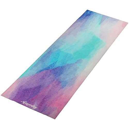 "AIMERDAY Premium Printed 1/4"" Extra Thick Yoga Mat High"