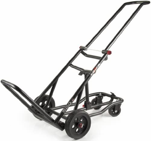 Krane AMG AMG500 Convertible Platform Dolly Tilt Cart with 500-Pound Capacity