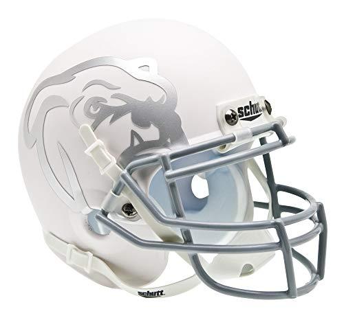NCAA Mississippi State Bulldogs Collectible Alt 1 Mini Helmet, Matte White ()