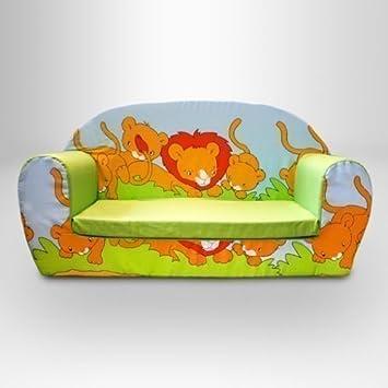 Ready Steady Cama para niños Espuma sofá, Savannah - diseño ...