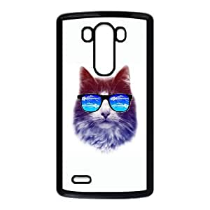 LG G3 Cell Phone Case Black cool cat