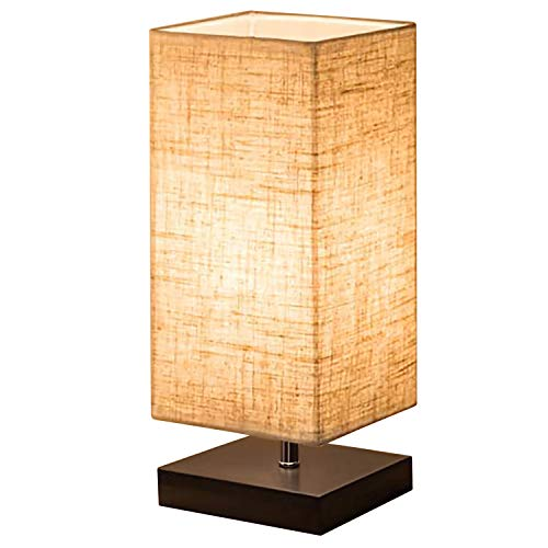 Bedside Table Lamp, Shine HAI Minimalist Solid ...