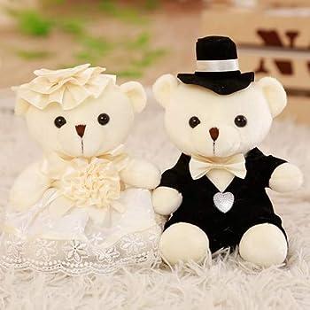 Amazon.com: YXCSELL Bride and Groom Couple Cute Soft Plush