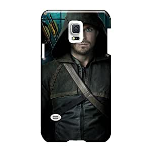 Hardphonecases Samsung Galaxy S5 Mini Anti-Scratch Hard Phone cases for Happy Christmas and New Year Customized Colorful Green Arrow Pictures [qJp5149SvPk]