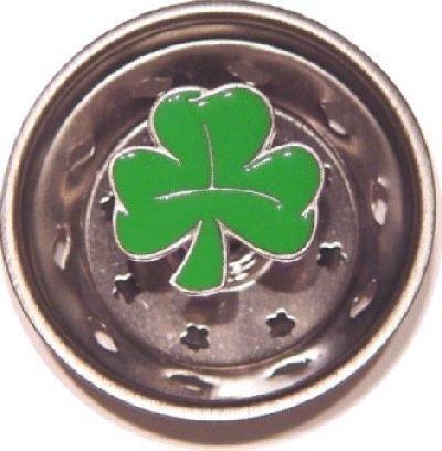 Lucky Irish Shamrock Sink Strainer Drain Kitchen Decor ()