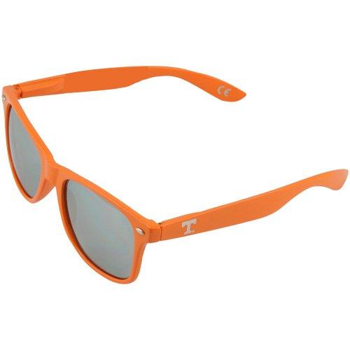 NCAA Tennessee Volunteers TENN-1 Orange Frame, Silver Lens Sunglasses, One Size, Orange