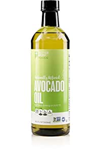 BetterBody Foods 100% Pure Avocado Oil Naturally Refined Cooking Oil, Non-GMO, 16.9 Ounce