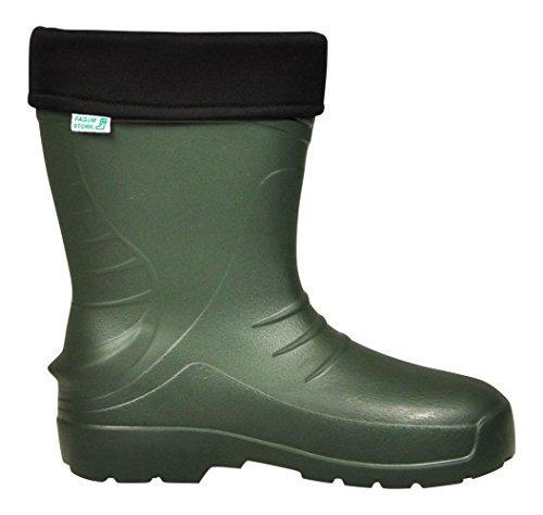 Lukpol Herren Gartenarbeit und Regen Wasser Bestandige Stiefel Modell-56011 Olive