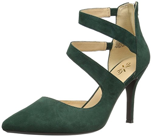 Nove West Womens Florent Scamosciati Verde Scuro