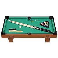 Excelvan mini Billiardtisch mit 2 Billiardqueues 16 Kugeln 29 Zoll