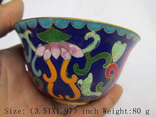 ZAMTAC The Ancient Antique Chinese Cloisonne Bowl. Take a Bowl ()